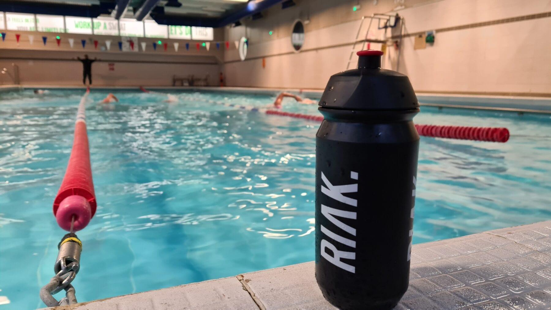 coached swim training